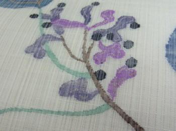 帯屋捨松製夏すくい織九寸帯 しく文の写真アップ