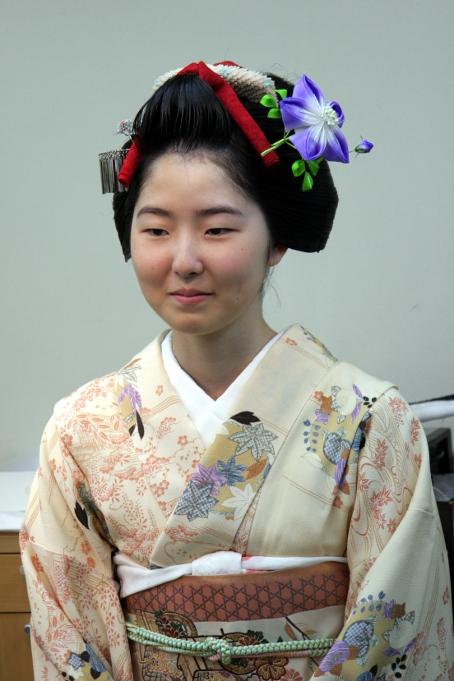 ヘアメイクセミナー 日本髪