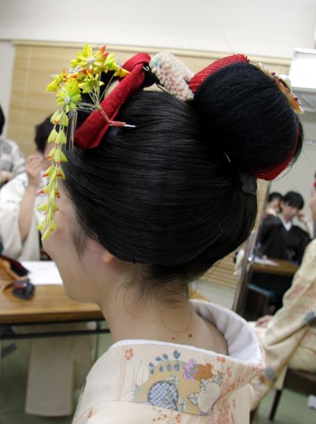 ヘアメイクセミナー 日本髪2