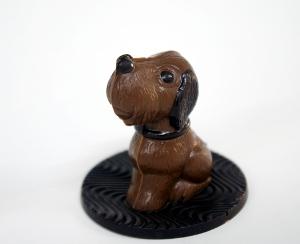 チョコ犬1