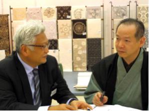 浅野裕尚氏と京都で打ち合わせ